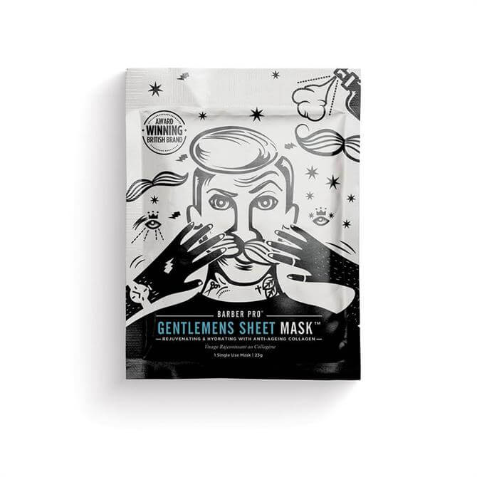 BeautyPro Gentlemens Sheet Face Mask