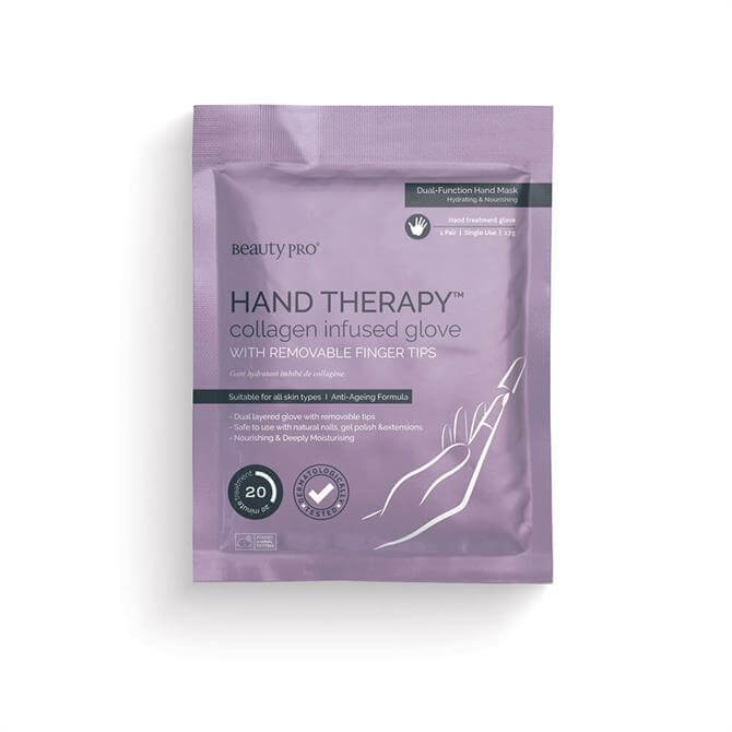 BeautyPro Hand Therapy™ Collagen Infused Glove- x1 Pair