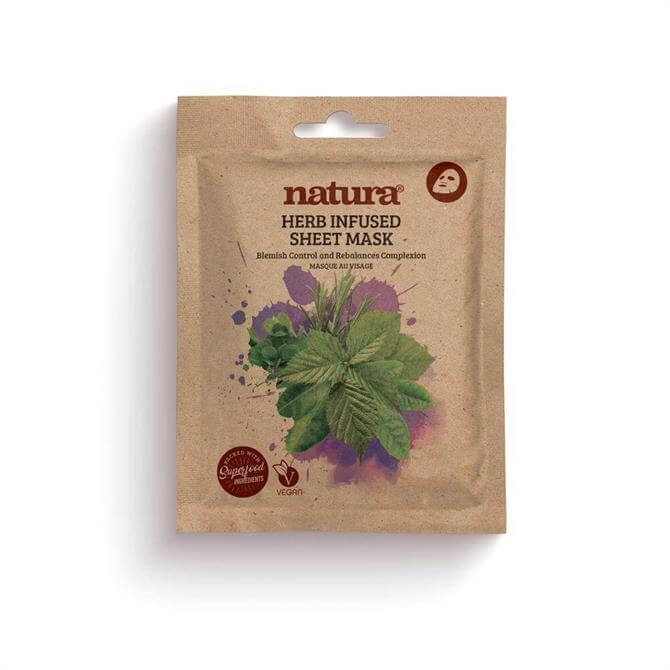 BeautyPro Natura Herb Infused Sheet Face Mask