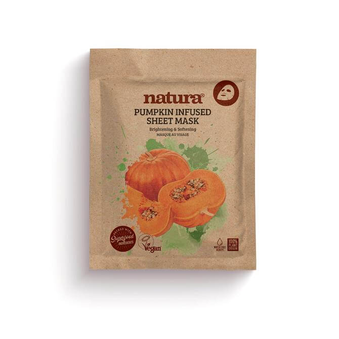 BeautyPro Natura Pumpkin Infused Sheet Face Mask