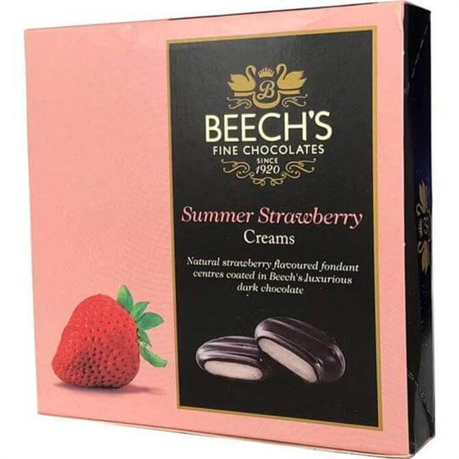 Beech's Dark Chocolate Strawberry Fondant Creams 90g