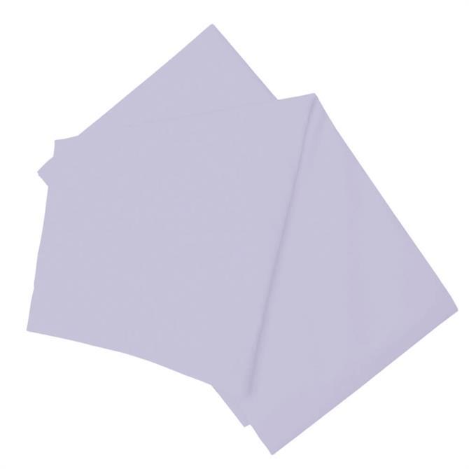 Belledorm Plain Dye Percale Flat Sheet