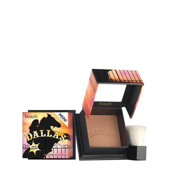 Benefit Dallas Rosy Bronze Blush Travel Size Mini