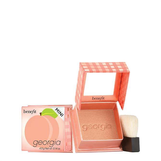 Benefit Georgia Golden Peach Blush Mini