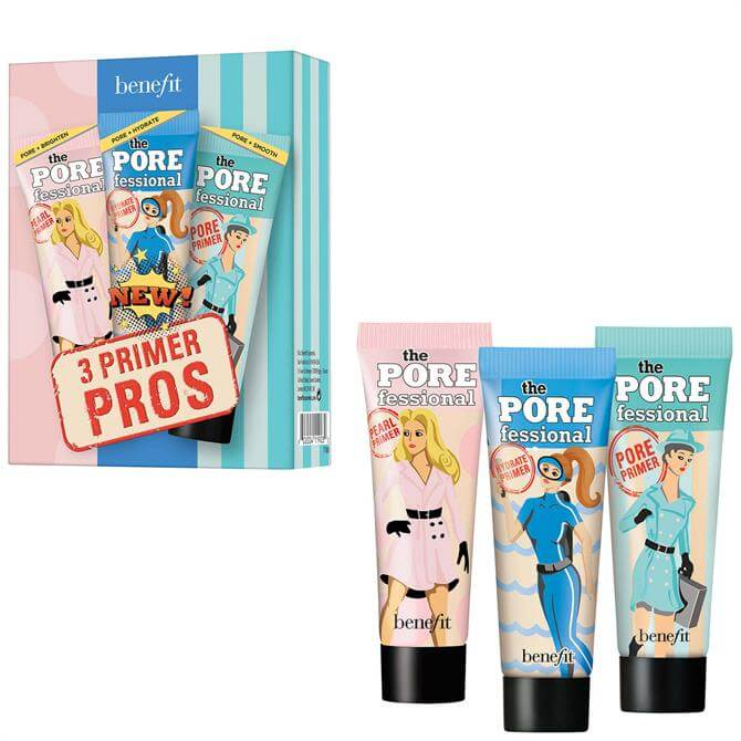 Benefit Porefessional Face Primer Trio Gift Set