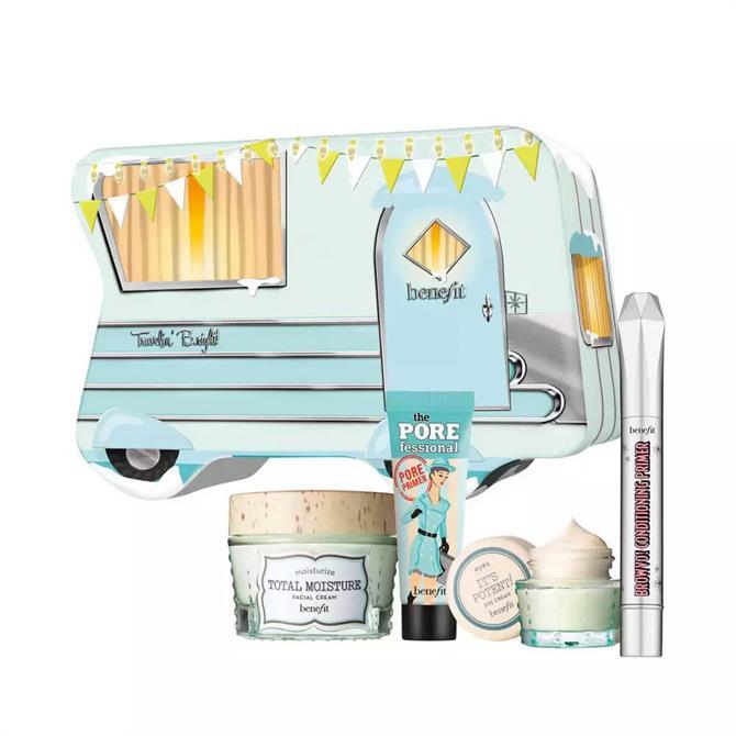 Benefit Travelin' B.right! Skin & Brow Christmas Set
