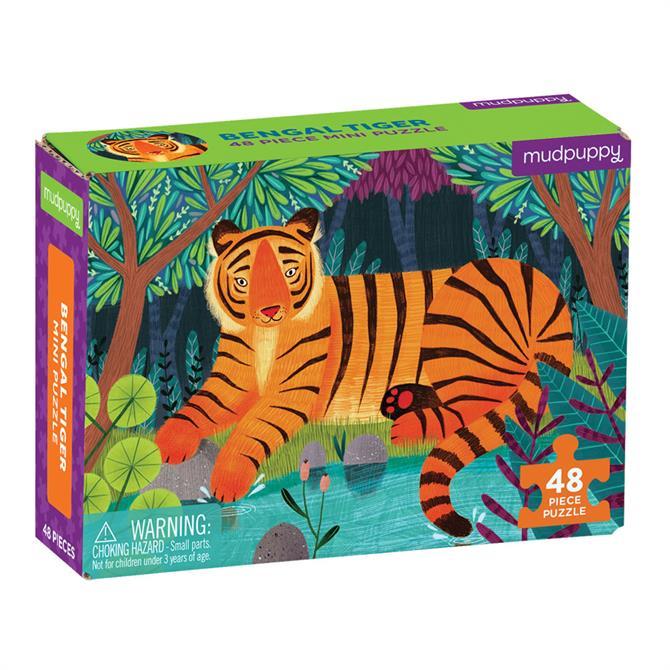 Tiger Bengal Mini Puzzle