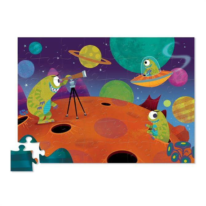 Creeture Alien Jigsaw Puzzle