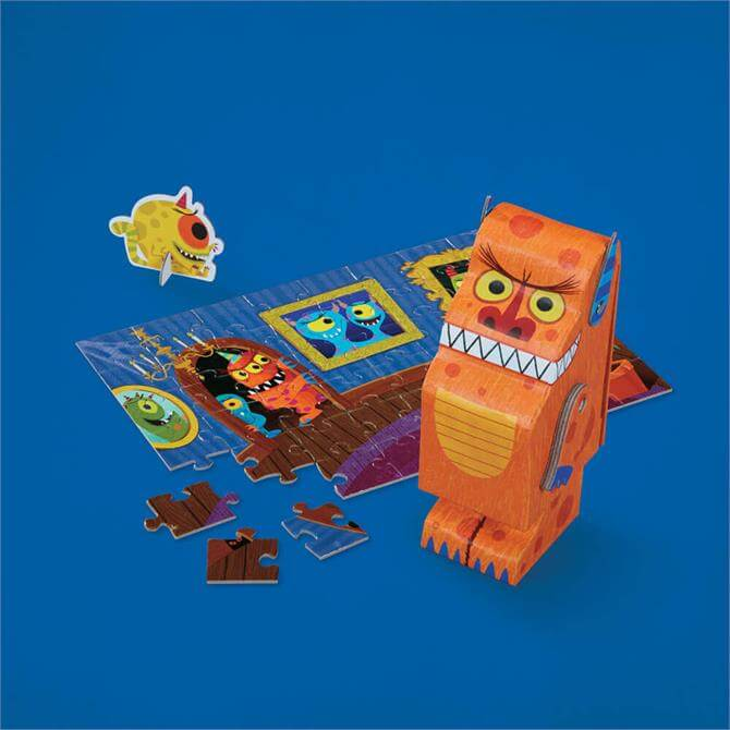 Creeture Monster Jigsaw Puzzle