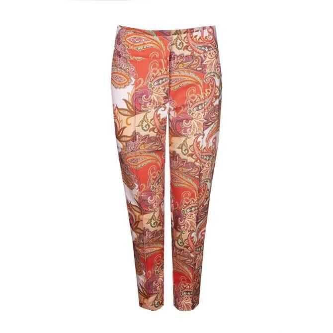 Bianca Siena Paisley Pattern Trouser