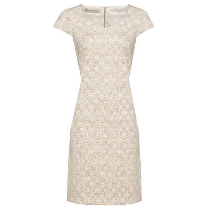 Bianca Didy Ornament Print Dress