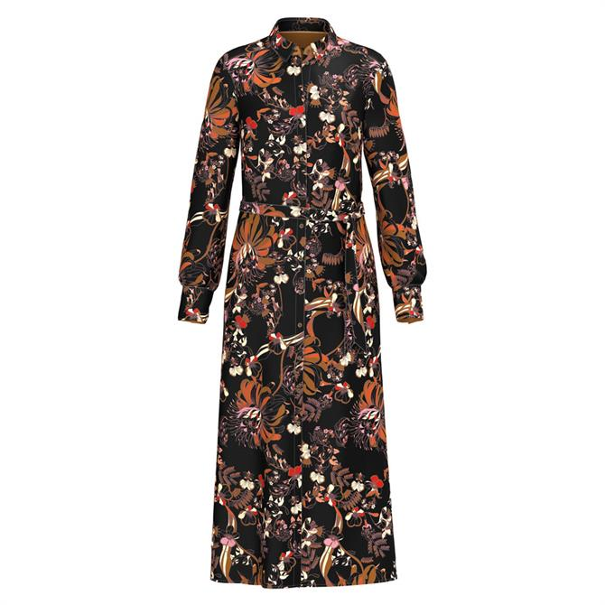 Bianca Dolores Floral Print Shirt Dress