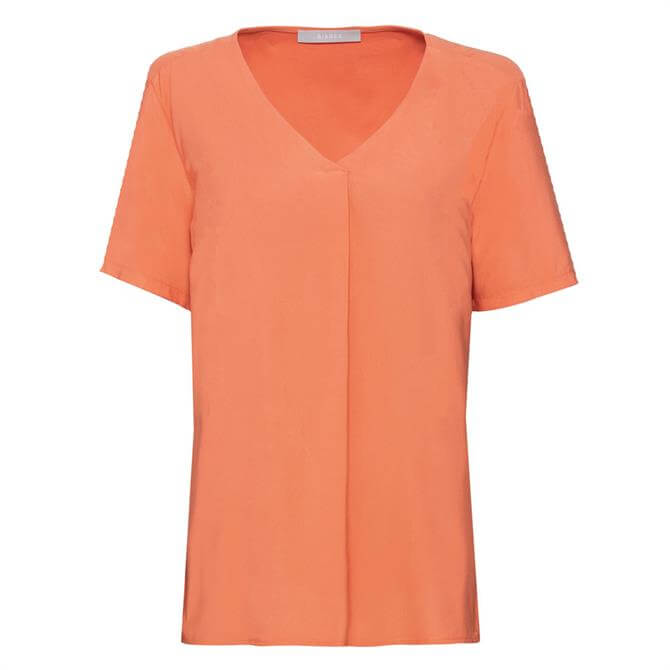 Bianca Fran V-Neck Fold T-Shirt