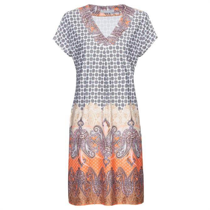 Bianca Maril Paisley Print Dress