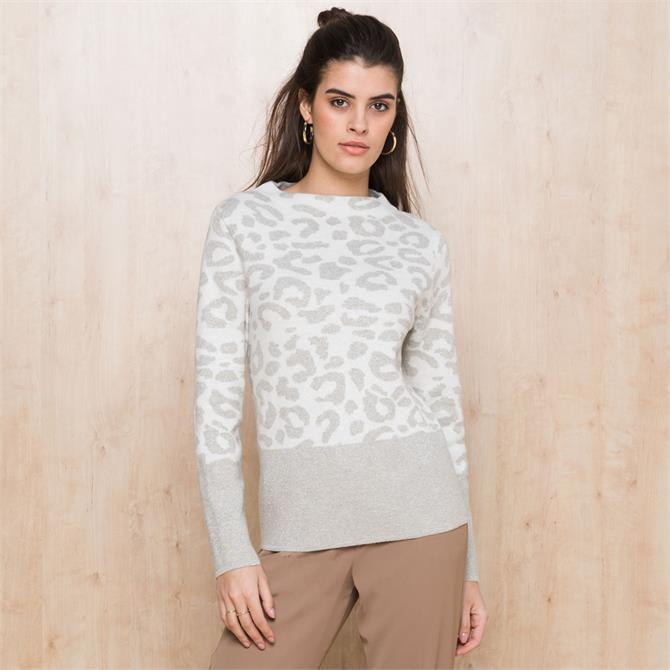 Bianca Remis Snow Leopard Jumper