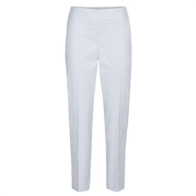 Bianca Siena Pinstripe Slim Trousers