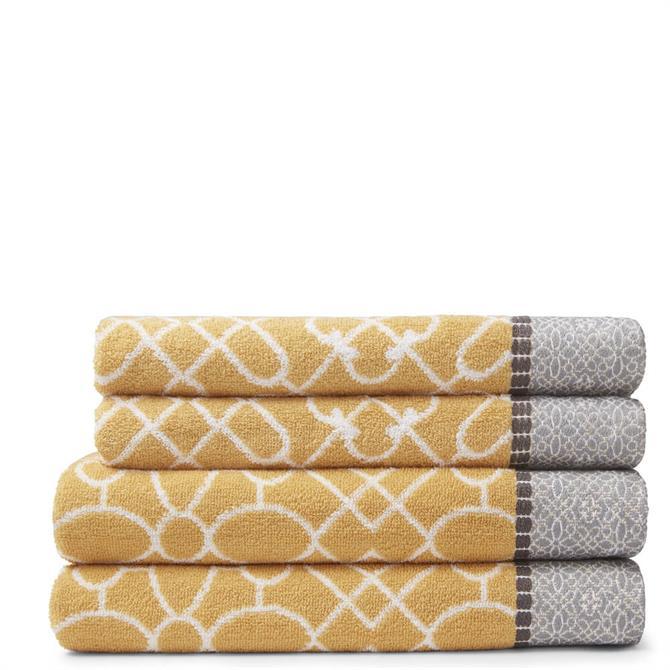 Bianca Cassia Towel Bale Ochre Set