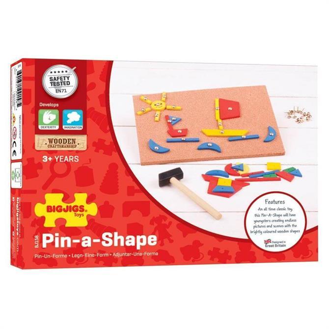 Bigjigs Pin-a-Shape