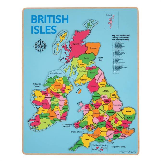 Bigjigs British Isles Insert Puzzle