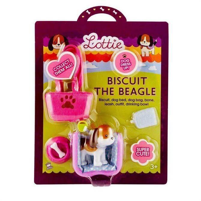 Bigjigs Lottie Dolls Biscuit the Beagle