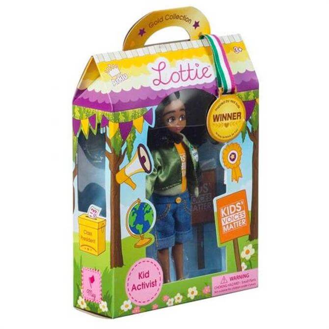 Bigjigs Lottie Dolls Kid Activist Doll