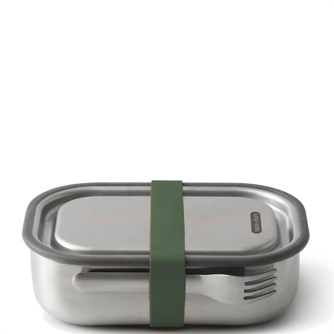 Black & Blum Olive Stainless Steel Lunch Box