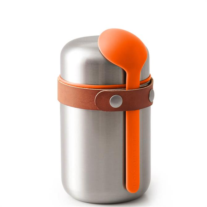 Black & Blum Orange Food Flask