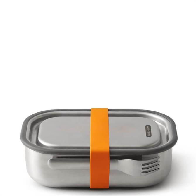 Black & Blum Orange Stainless Steel Lunch Box