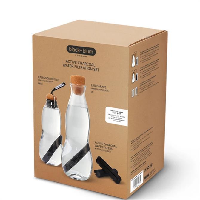 Black & Blum Active Charcoal Water Filtration Set