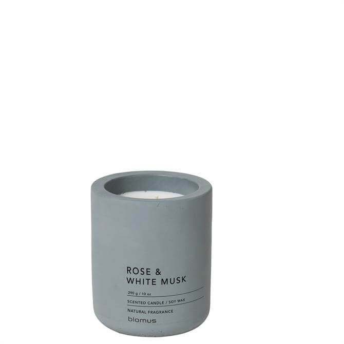 Blomus Rose & White Musk Large Scented Candle