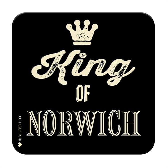King Of Norwich Coasters