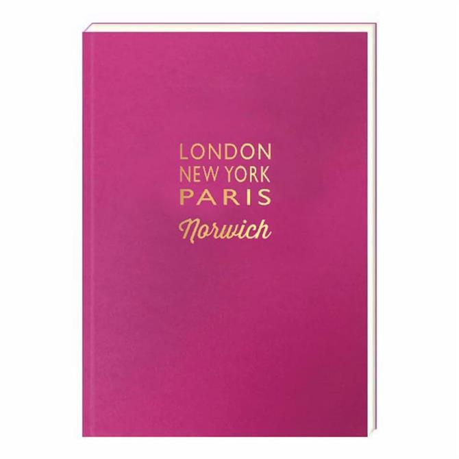 London NY Paris Norwich Notebook