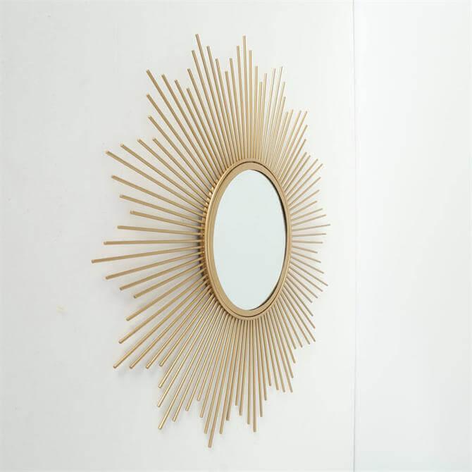 Boltze Mirror Brooklyn Gold