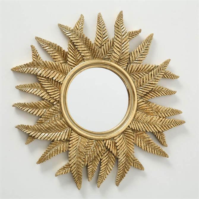 Boltze Flaro Mirror Gold