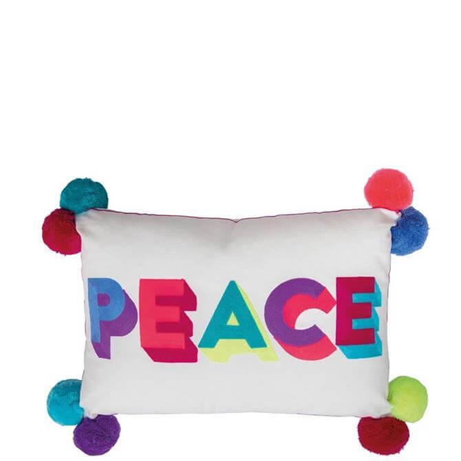 Bombay Duck Small Talk PEACE Cushion