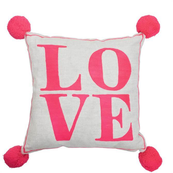 Bombay Duck Love Square Cushion