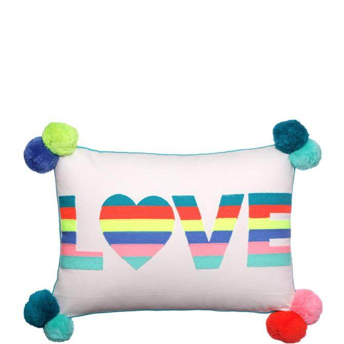 Bombay Duck Love Stripes Cushion