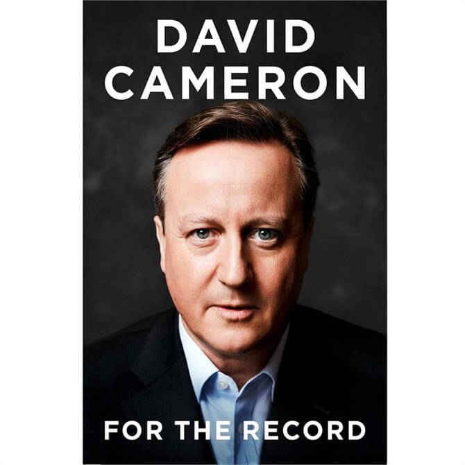 For the Record By David Cameron (Hardback)