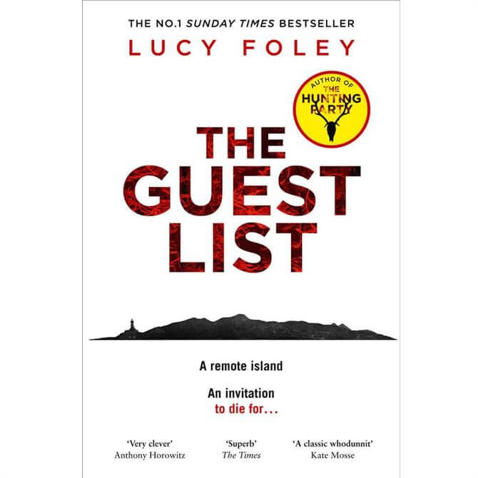 The Guest List By Lucy Foley (Hardback)