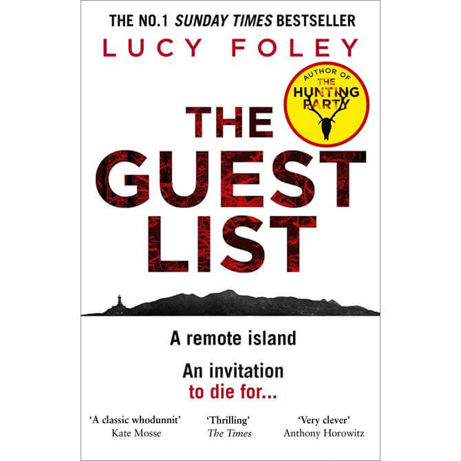 The Guest List By Lucy Foley (Paperback)