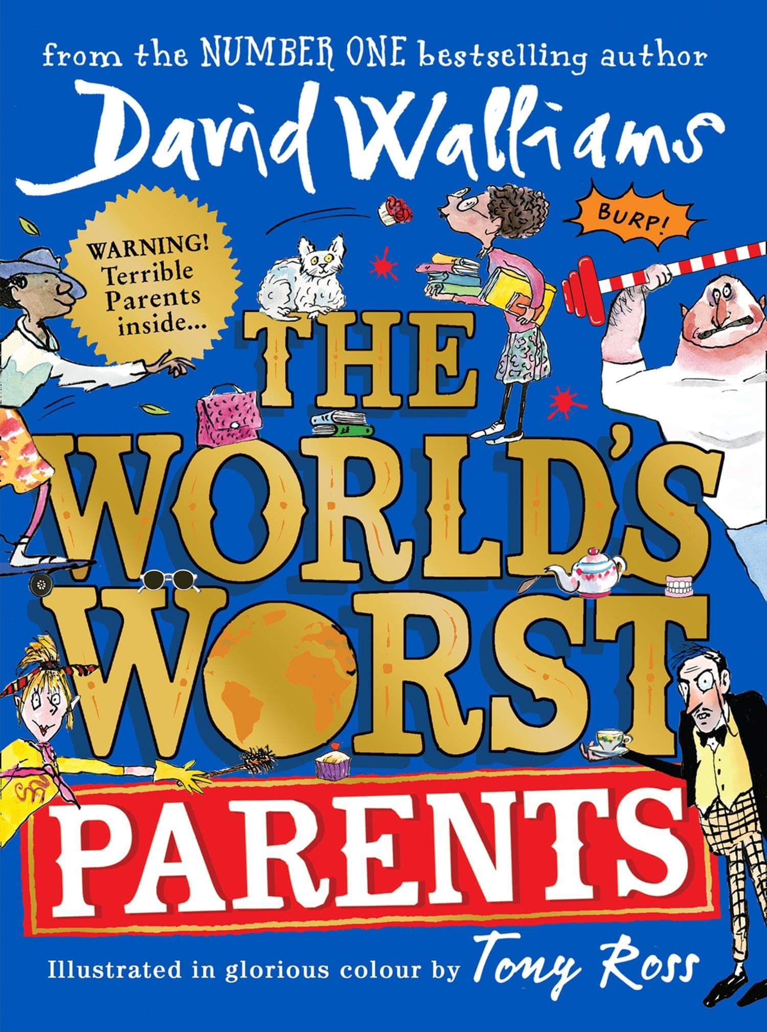 An image of The World's Worst Parents By David Walliams (Hardback)