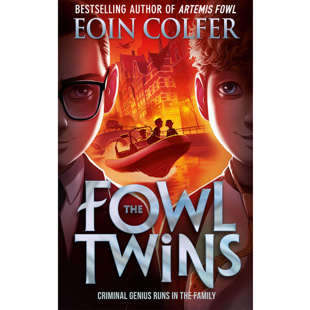 An image of The Fowl Twins By Eoin Colfer (Hardback)