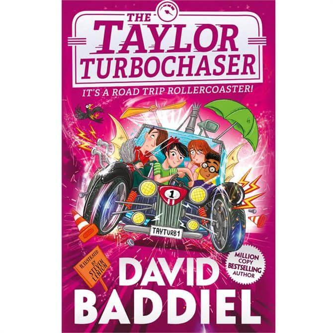 The Taylor TurboChaser By David Baddiel (Hardback)