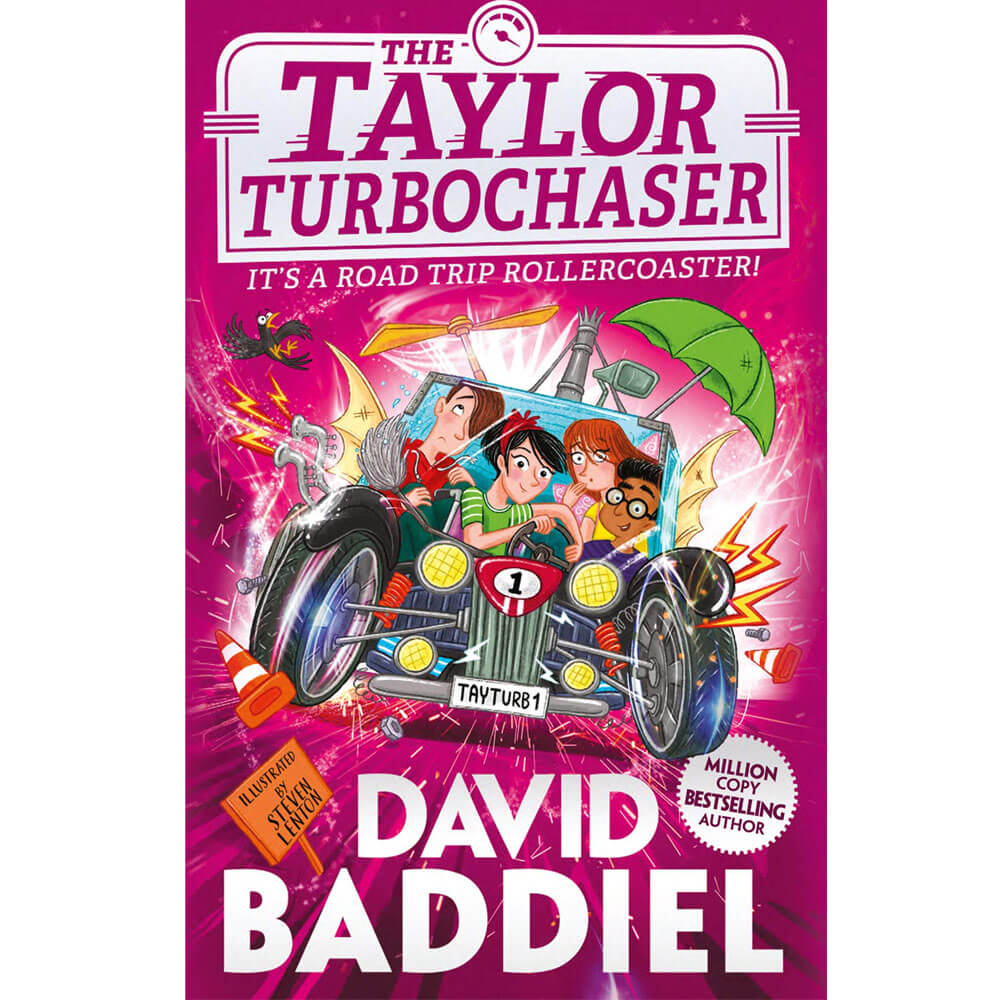 An image of The Taylor TurboChaser By David Baddiel (Hardback)