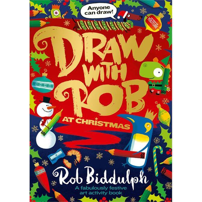 Draw with Rob at Christmas By Rob Biddulph (Paperback)