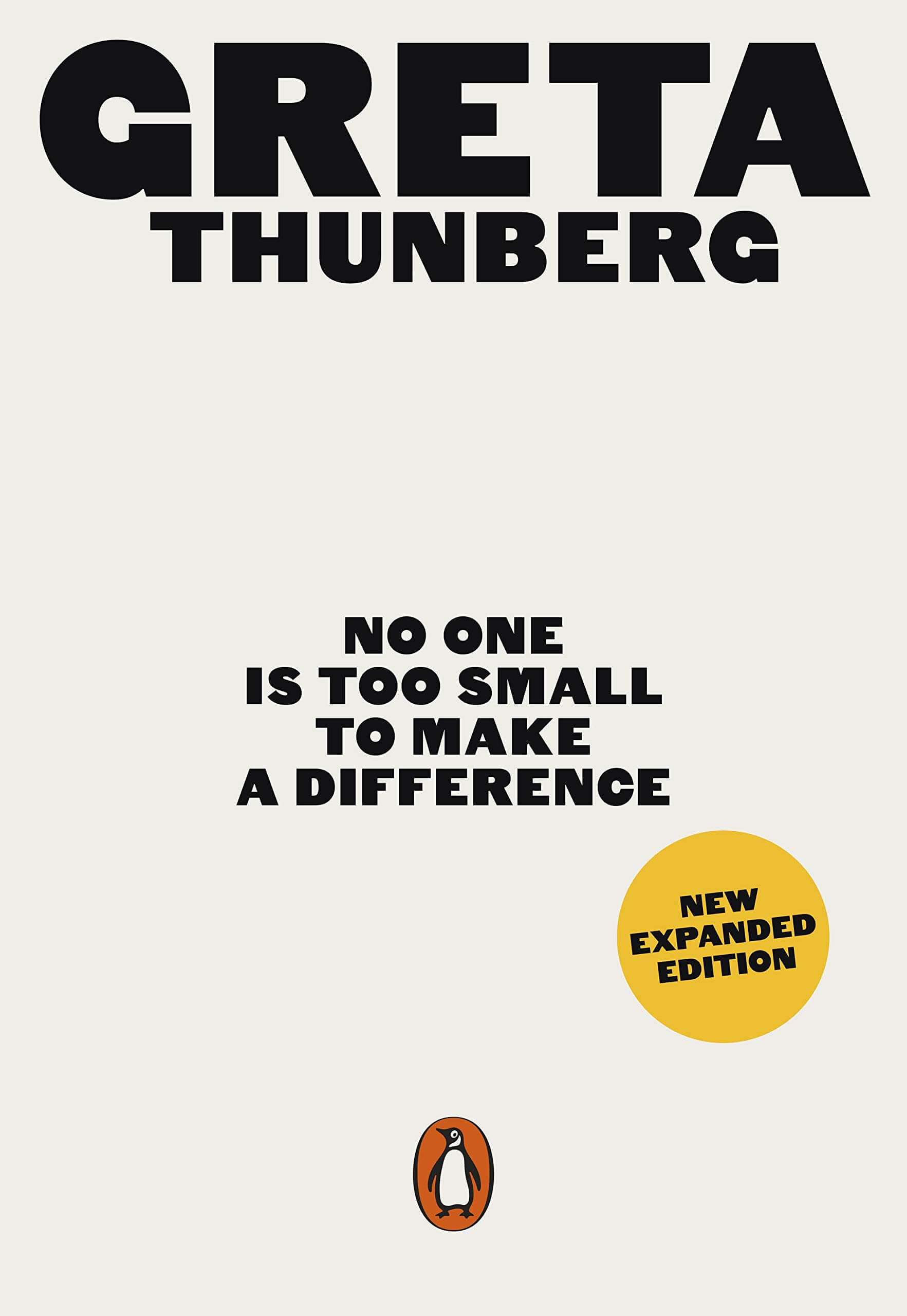 An image of No One Is Too Small to Make a Difference By Greta Thunberg (Paperback)