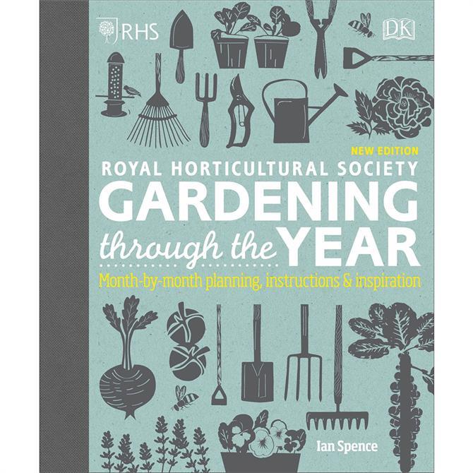 RHS Gardening Through the Year By Ian Spence (Hardback)