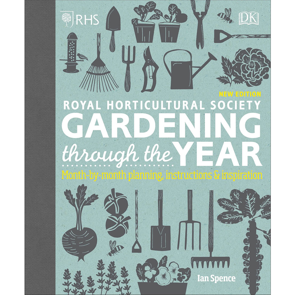 An image of RHS Gardening Through the Year By Ian Spence (Hardback)