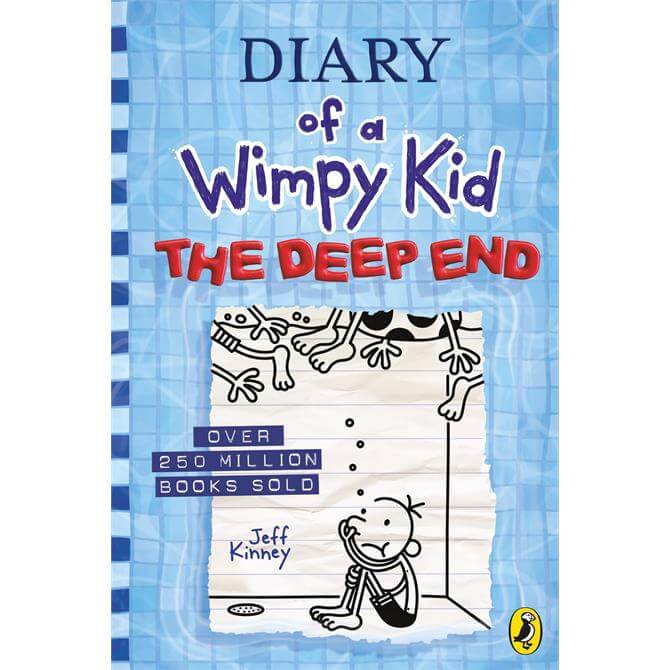 Diary of a Wimpy Kid: The Deep End By Jeff Kinney (Hardback)