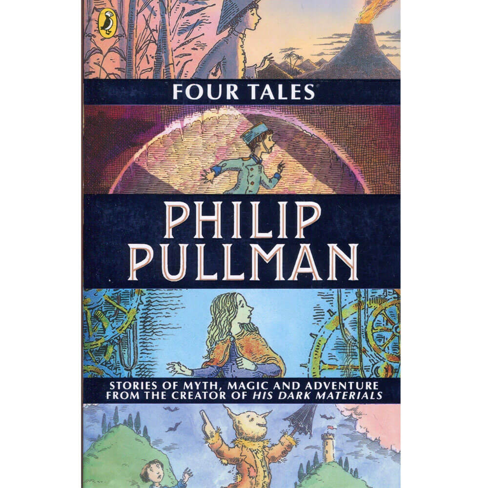 An image of Four Tales By Philip Pullman (Paperback)